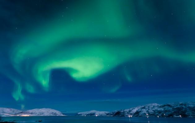 Niezwykłe zjawisko nad Norwegią