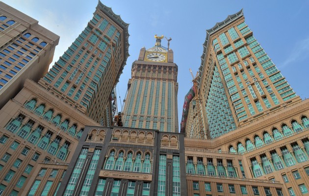 1 abraj al bait hotel tower mekka arabia saudyjska wp. Black Bedroom Furniture Sets. Home Design Ideas