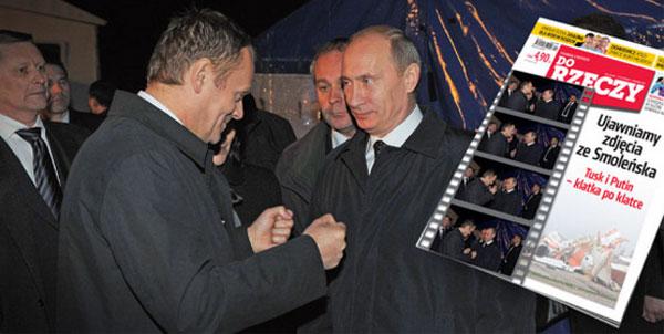 Antoni Macierewicz: istnieje nagranie ze spotkania Tuska z Putinem w Smole�sku