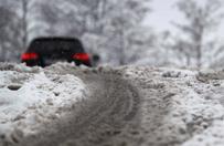 Trudne warunki na drogach w okolicach Płocka