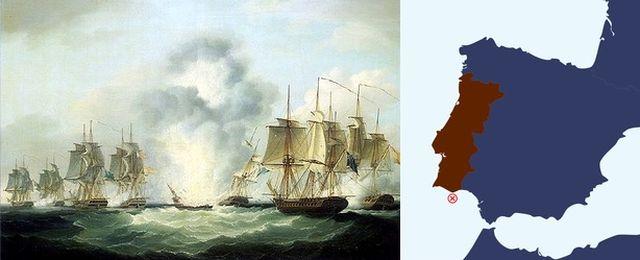 Klęska odkrywców hiszpańskiej fregaty