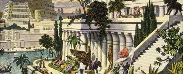wiszące ogrody semiramidy