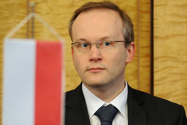 Prezes IPN �ukasz Kami�ski