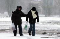 Niebezpieczna pogoda - huragan i śnieżyca!