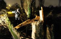Niszczycielskie wichury nad Polsk�. Tysi�ce dom�w bez pr�du, s� ofiary �miertelne