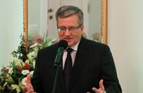 Prezydent Bronis�aw Komorowski: w Polsce brak ponadpartyjnej polityki ws. Ukrainy