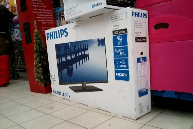 Telewizor LED z Biedronki Philips 39PFL3088H/12. Hit czy kit?