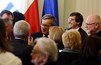 Prezydent wręczył odznaczenia działaczom opozycji demokratycznej w PRL