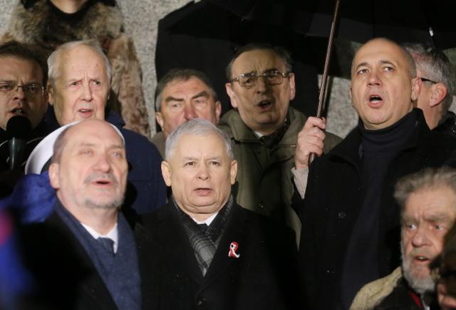 PiS maszeruje w Warszawie