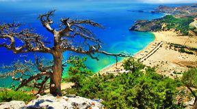 Malownicze greckie wyspy zagrożone