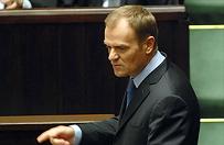 Donald Tusk pierwszy raz po parlamentarnych wakacjach w sejmie
