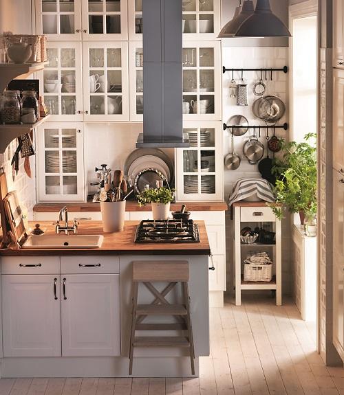 Funkcjonalna kuchnia w stylu skandynawskim Zdjęcia przytulnych kuchni skandy   -> Funkcjonalna Kuchnia Zdjecia