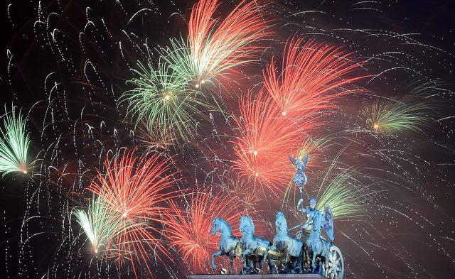 Niemcy witają Nowy Rok