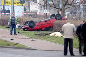 Sześć ofiar śmiertelnych wypadku - kierowca BMW pijany