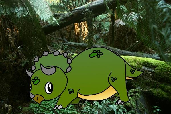 Rysowanie triceratopsa