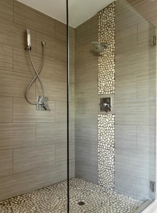 Mozaika w azience zdj cia azienek wp dom - Douche al italien ...