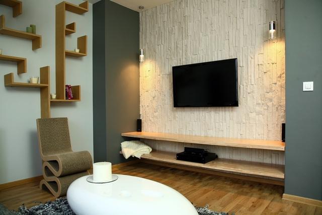 Kamie dekoracyjny elegancki pomys na cian wp dom - Impermeabilizante de paredes interiores ...