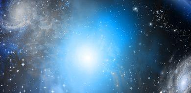 Zaobserwowano nietypową, odległą galaktykę