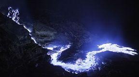 Kawah Ijen - wulkan plujący niebieską lawą