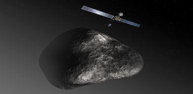 Rosetta wybudziła się ze snu