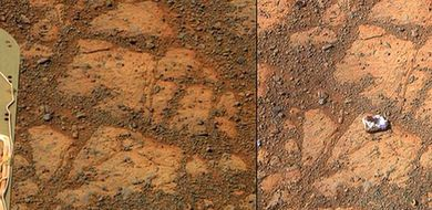 Tajemniczy kamień na Marsie