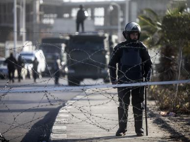 Strzelanina w Egipcie. Nie �yje czterech policjant�w