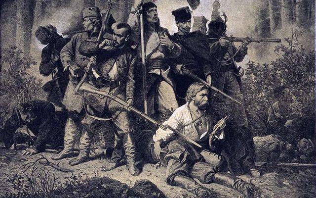Reduta powstańców z 1863 i prehistoryczne sztylety