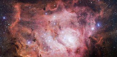 Szczegółowe zdjęcie Mgławicy Laguna