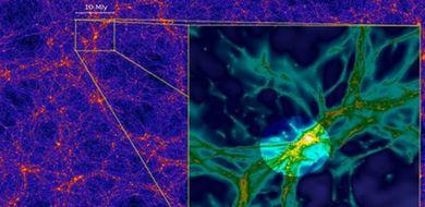 Sfotografowano włókna kosmicznej sieci