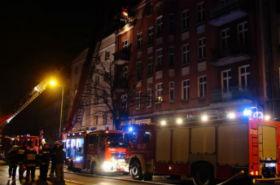 Tragiczny pożar w Kaliszu. Zginęły trzy osoby