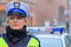 Jeden dzień z życia pięknej policjantki