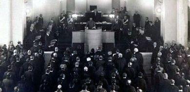 Pierwsze posiedzenie Sejmu w niepodległej ...