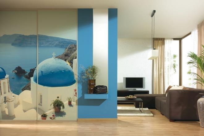 Szklane fronty mebli z nadrukiem - esencja nowoczesnych wnętrz