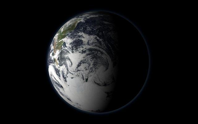 Ziemia wanie teraz