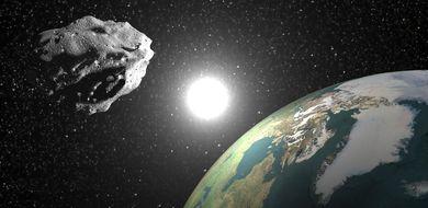 Ma�a asteroida zbli�a si� do Ziemi