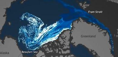 Biegun północny coraz szybciej się topi