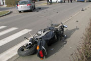 Fatalny fina� jazdy motocyklem
