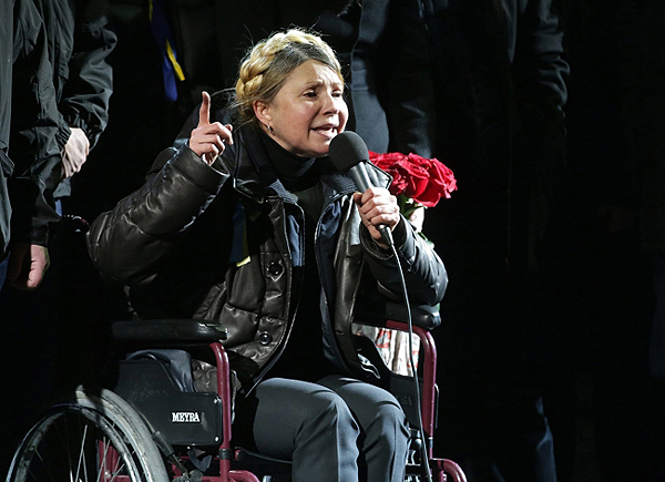 Przem�wienie Julii Tymoszenko na Majdanie