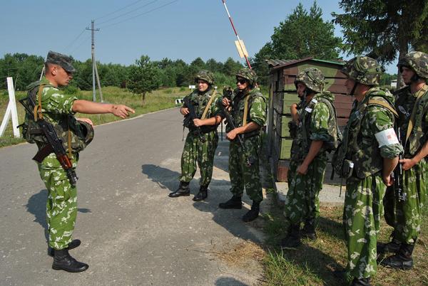 Ukraińscy żołnierze w czasie wielonarodowych ćwiczeń