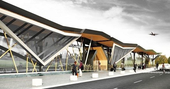 Zwycięski projekt lotniska w Szymanach