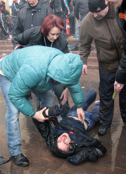 Niespokojnie w Charkowie i Doniecku
