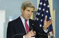 """Kerry grozi Rosji """"powa�nymi"""" konsekwencjami w relacjach USA-UE"""