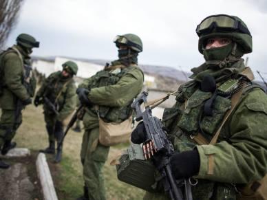 Rosja przerzuci�a wojska desantowe na zaanektowany Krym. Trwa sprawdzanie gotowo�ci bojowej