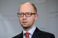 Premier Ukrainy Arsenij Jaceniuk: nikomu nie oddamy Krymu