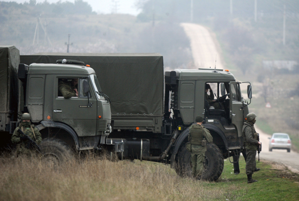 Ukraina: koncentracja wojsk rosyjskich i ukrai�skich