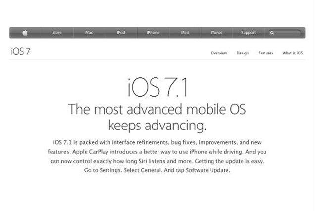 iOS 7.1 już niedługo w twoim samochodzie