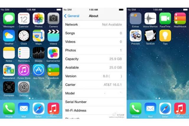 Tak będzie wyglądać iOS 8?