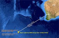 Zdj�cia satelitarne 122 obiekt�w na Oceanie Indyjskim. To szcz�tki boeinga?