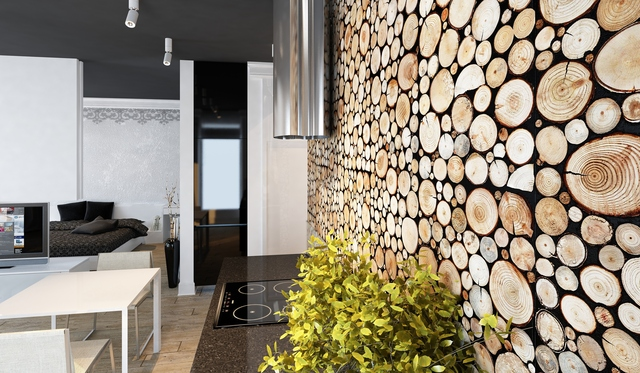 ponadczasowe drewno na cianie dom wp pl. Black Bedroom Furniture Sets. Home Design Ideas