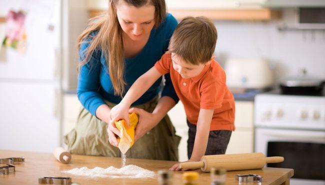 Gotowanie wspomaga rozwój dziecka